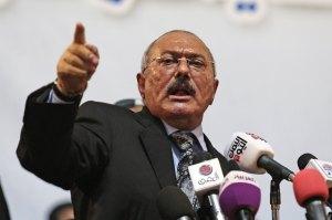 תיעב את קושייבי - הנשיא לשעבר עלי עבדאללה סאלח
