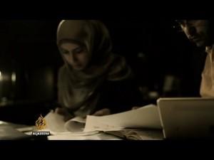 """סאפא אל-קרמאן וצוותה - מתוך הסרט """"הדרך לצנעא"""". צילום: אל-ג'זירה"""