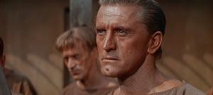 קירק דאגלס בתפקיד מנהיג המורדים בסרט ספרטאקוס