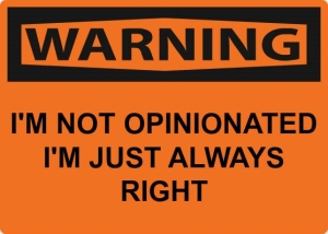 warning-opinionated