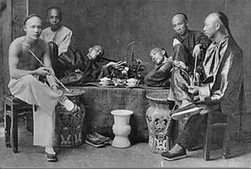 OW Chinese Opium Den