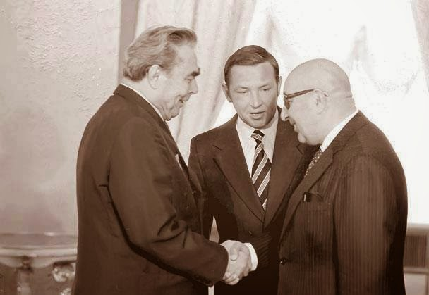 Image result for Daoud khan and brezhnev